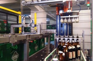 BOTTLE INSERTERS AND UNLOADERS