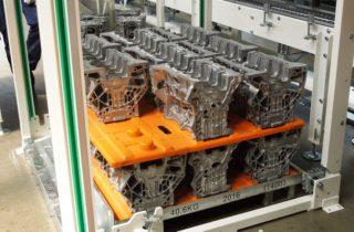 1. Robotická paletizace, dopravníky a lineární manipulátor