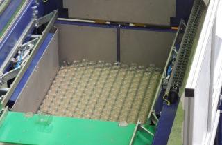 5. Paletizace skleniček, kbelíků a kartonů a depaletizace skleniček