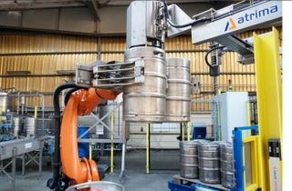 ATRIMA in newspapers – PALETIZATION IN BREWERY
