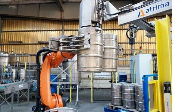 ATRIMA v tisku – Paletizace v pivovaru