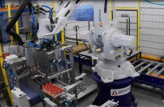 Robotické mixování PET lahví