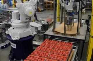 3. Robotické mixování PET lahví